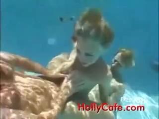 Sandy Underwater Threesome sandy